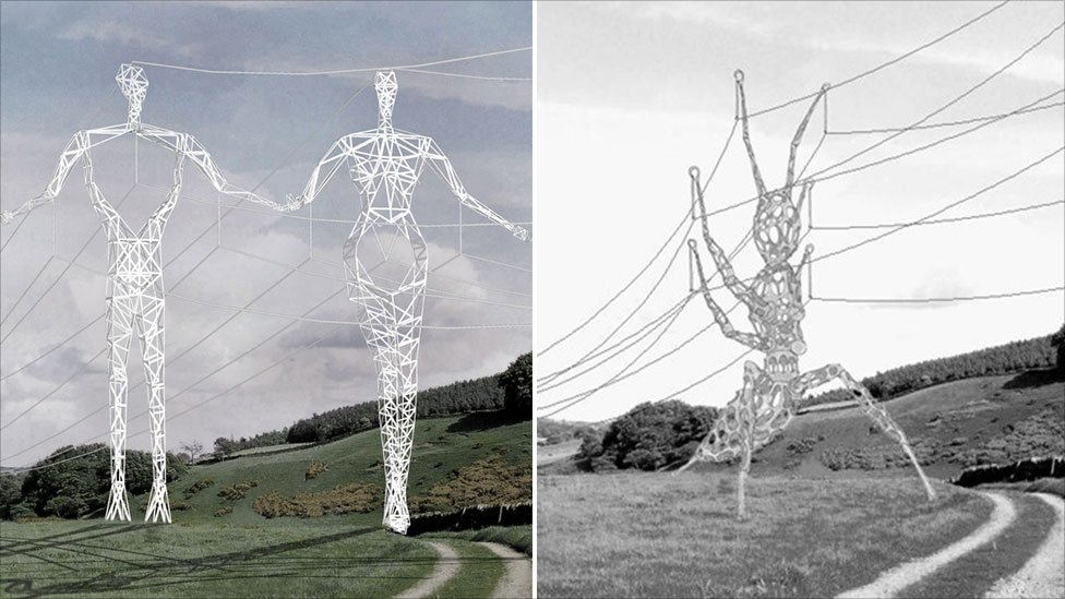 Electricity pylons5